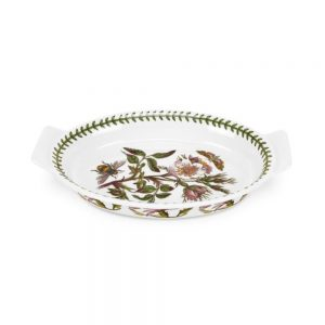 Portmeirion Seconds Botanic Garden Oval Gratin Dish 9 inch