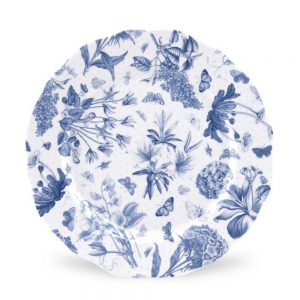 Portmeirion Botanic Blue 10.75 Inch Dinner Plate set of 6