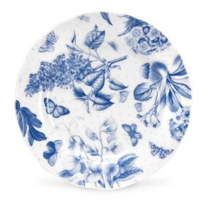 Portmeirion Botanic Blue 6 Inch Side Plate set of 6