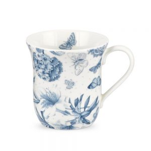 Portmeirion Botanic Blue Mugs Set of 6