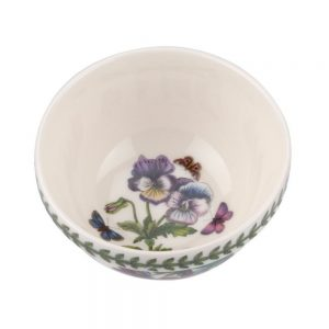 Portmeirion Seconds Botanic Garden 5 Inch Stacking Bowls Set of 6 (No guarantee of motifs)