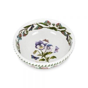 Portmeirion Seconds Botanic Garden 7 Inch Salad Bowl Pansy