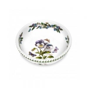 Portmeirion Seconds Botanic Garden 8 Inch Salad Bowl Pansy