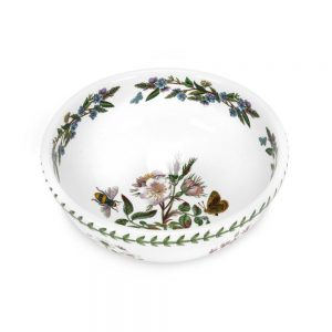Portmeirion Seconds Botanic Garden 9 Inch Salad Bowl Dog Rose