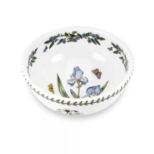 Portmeirion Seconds Botanic Garden 9 Inch Salad Bowl Iris