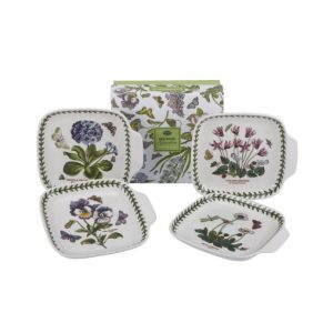 Portmeirion Botanic Garden Canape Dishes Set of 4