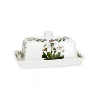 Portmeirion Seconds Botanic Garden Covered Butter Dish