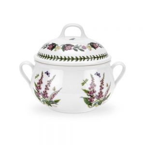 Portmeirion Botanic Garden Fox Glove Covered Casserole 4pt