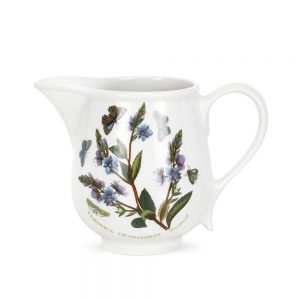 Portmeirion Seconds Botanic Garden Cream Jug Romantic Shape