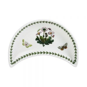 Portmeirion Botanic Garden Crescent Dish (No Guarantee of Flower Design)
