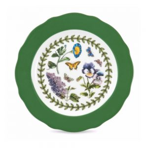 Portmeirion Botanic Garden Green Tea Plates Set of 6