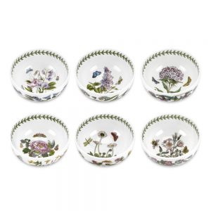 Portmeirion Seconds Botanic Garden Mini Bowls Set of 6