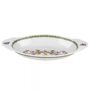 Portmeirion Botanic Garden Oval Baking Dish with Handles