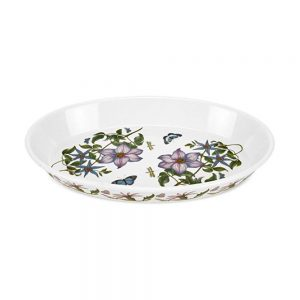Portmeirion Seconds Botanic Garden 14.5 Inch Oval Baking Dish