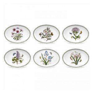 Portmeirion Seconds Botanic Garden Oval Platter 11 Inch Set of 6