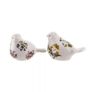 Portmeirion Botanic Garden Bird-Shape Salt & Pepper Set