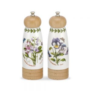 Portmeirion Botanic Garden Salt and Pepper Mills