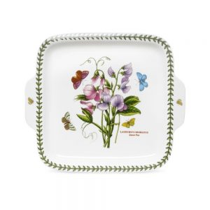 Portmeirion Seconds Botanic Garden Handled Square Dessert Dish