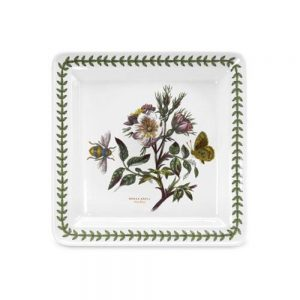 Portmeirion Seconds Botanic Garden 8.5 Inch Square Side Plate Dog Rose