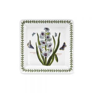Portmeirion Seconds Botanic Garden 8.5 Inch Square Side Plate Hyacinth
