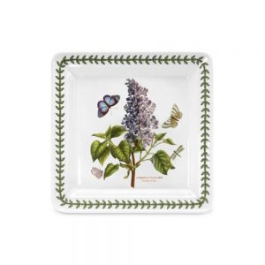 Portmeirion Seconds Botanic Garden 8.5 Inch Square Side Plate Lilac