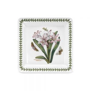 Portmeirion Seconds Botanic Garden 8.5 Inch Square Side Plate Lily