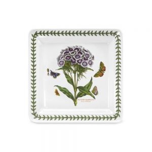 Portmeirion Seconds Botanic Garden 8.5 Inch Square Side Plate Sweet William