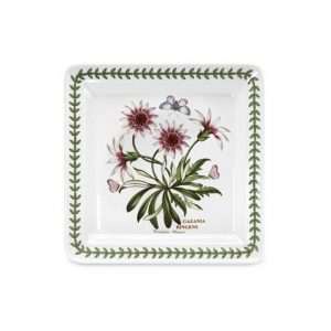 Portmeirion Seconds Botanic Garden Square 8.5 Inch Side Plate Treasure Flower