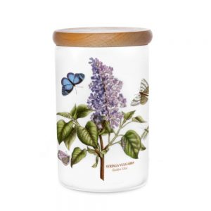 Portmeirion Seconds Botanic Garden Storage Jar 7 Inch Garden Lilac