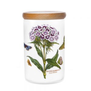 Portmeirion Seconds Botanic Garden Storage Jar 7 Inch Sweet William
