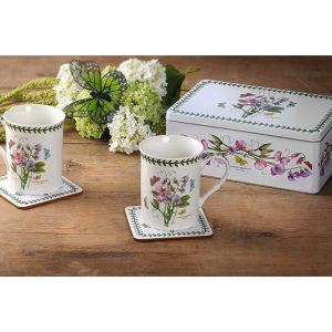 Portmeirion Botanic Garden 5 Piece Tin Set Sweet Pea