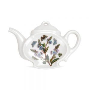 Portmeirion Seconds Botanic Garden Teabag or Spoon Rest (No Guarantee of Flower Design)