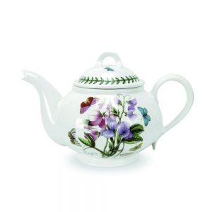 Portmeirion Seconds Botanic Garden Teapot 2pt Motif Sweet Pea