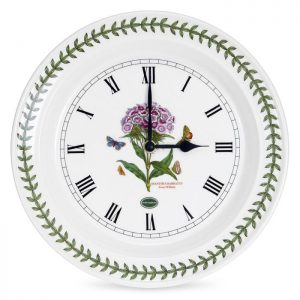 Portmeirion Seconds Botanic Garden Wall Clock Sweet William
