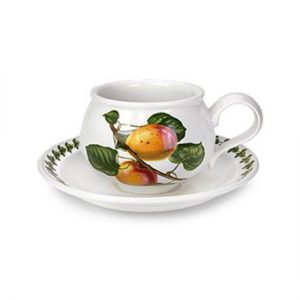 Portmeirion Seconds Pomona Tea Cups and Saucers Set of 6