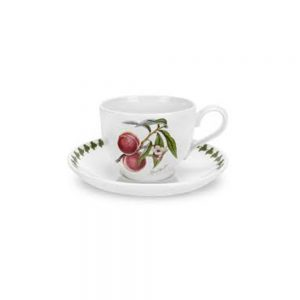 Portmeirion Seconds Pomona Breakfast Cups and Saucers Set of 4