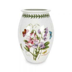 Portmeirion Botanic Garden Large Sovereign Vase 10 Inch Sweet Pea