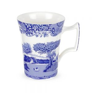 Spode Blue Italian Cottage Mugs Set of 6