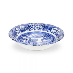 Spode Seconds Blue Italian Small 6 inch Cereal Bowl Set of 6