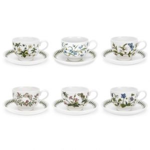Portmeirion Botanic Garden Teacup and Saucer (Random Motif)