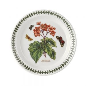 Portmeirion Botanic Garden 8.5 Inch Plate Begonia (1st Quality)