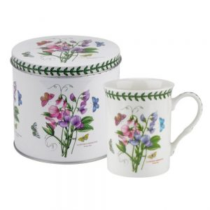 Portmeirion Botanic Garden Mug & Tin Set Sweet Pea