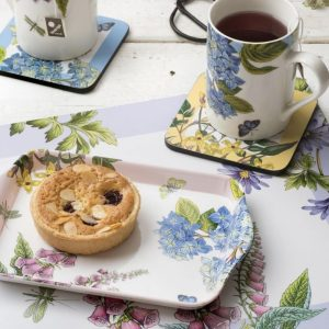 Pimpernel Botanic Garden Terrace Mug & Tray Set