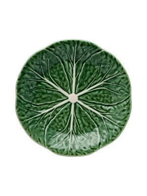 Bordallo Pinheiro 19 cm Plate Cabbage Natural