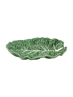 Bordallo Pinheiro Fruit Bowl 37cm Cabbage Natural