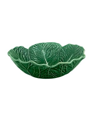 Bordallo Pinheiro 29cm cabbage bowl